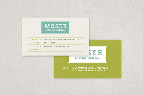 Dental Appointment Business Card Template Inkd - Appointment business card template