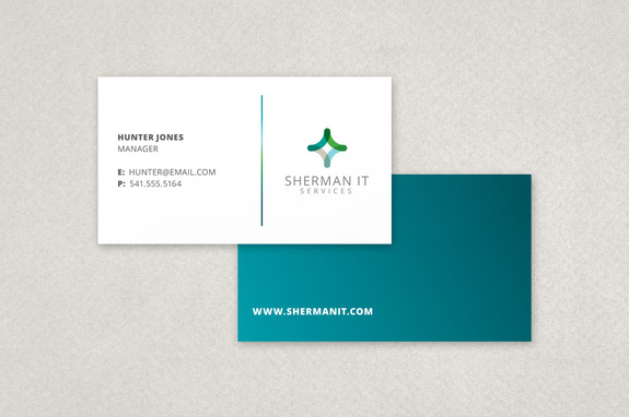 it business cards templates