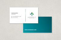 Crisp IT Business Card Template