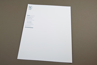 Contemporary Stationery Letterhead Template
