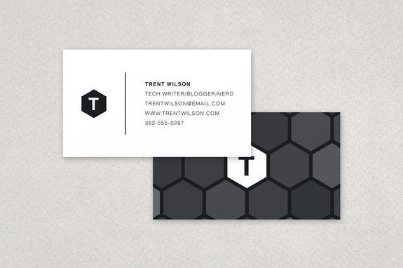 Elegant linen business cards and textured linen cards inkd honeycomb business card template reheart Gallery