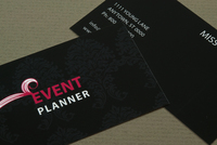 Event Planner Business Card Template