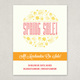 Illustrative Spring Sale Flyer Template