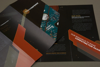 Contemporary Technology Brochure Template
