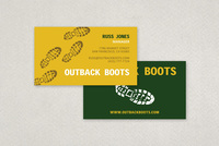 Rugged Outdoor Business Card Template