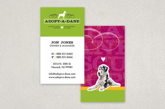 Cute pet adoption business card template inkd cute pet adoption business card template colourmoves