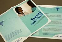 Blue Family Health Brochure Template