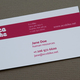 Modern Bike Messenger Business Card Template