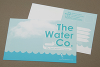 Illustrative Water Utilities Postcard Template