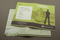 Green Insurance Agency Brochure Template