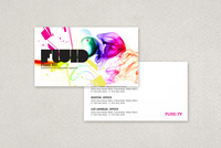 Interactive Web Agency Business Card Template