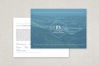 Personable Blogger Postcard Template