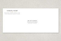 Classy Stylist Envelope Template