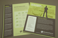 Green Insurance Agency Datasheet Template