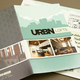 Contemporary Urban Lofts Brochure Template
