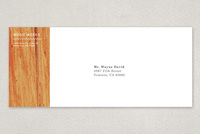 Textured Carpentry Envelope Template