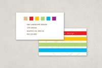 Landscape Design Business Card Template