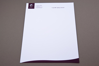 Peaceful Spa & Recreation Center Letterhead Template