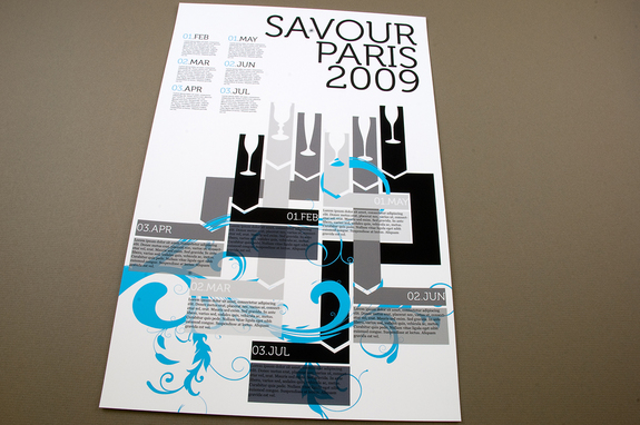 Contemporary Wine Tasting Flyer Template – Contemporary Flyer