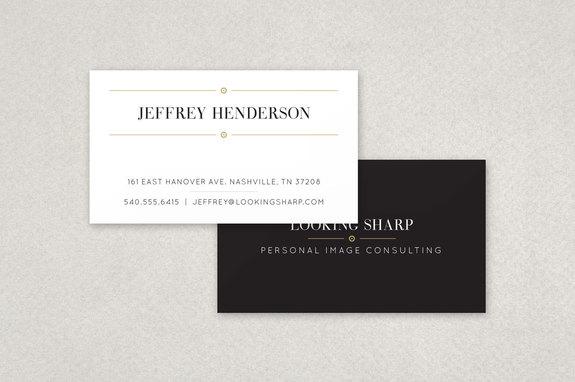 Classy stylist business card template inkd classy stylist business card template reheart Image collections