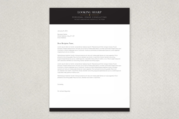 Free Letterhead Template  Free Letterhead Templates Design Sample