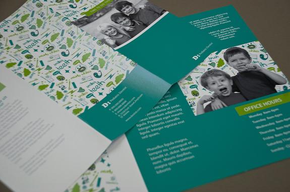 Pediatric Dentist Brochure Template Inkd