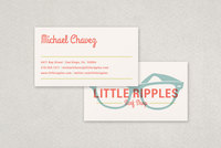 Surf Shop Business Card Template