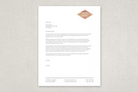 Textured Carpentry Letterhead Template