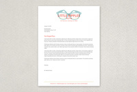 Hip Surf Shop Letterhead Template