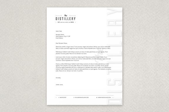 free letterhead template free letterhead templates design sample
