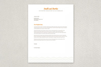 Vintage Repair Shop Letterhead Template