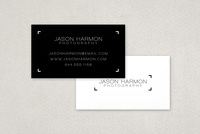 Professional Photographer's Business Card Template