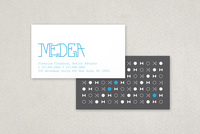 Vintage Technology Group Business Card Template