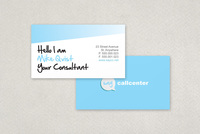 Call Center Business Card Template