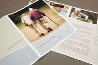 Senior Care Brochure Template