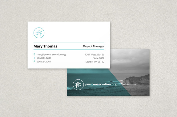 non profit organization business card template - Non Profit Business Cards