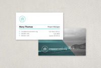 Non Profit Organization Business Card Template