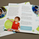 Children's Daycare Brochure Template