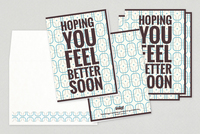 Feel Better Soon Greeting Card Template