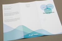 Family Dentist Brochure Template