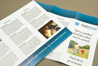 Corporate Insurance Brochure Template