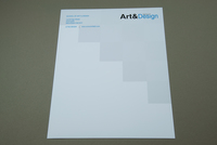University Degree Options Letterhead Template