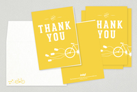 Fun Wedding Thank You Card Template