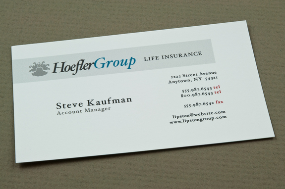 insurance business card template  Corporate Insurance Business Card Template | Inkd