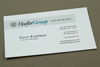 Corporate Insurance Business Card Template