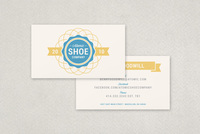 Atomic Seal Business Card Template