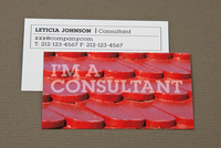 Red Roof Maintenance Business Card Template
