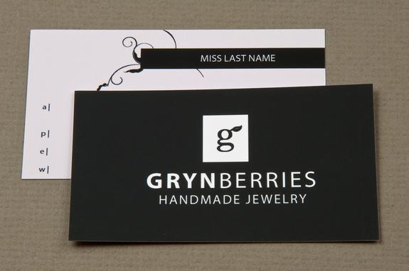 Jewelry company business card template inkd jewelry company business card template reheart Choice Image