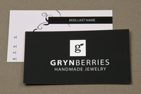 Jewelry Company Business Card Template