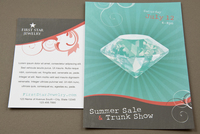 Jewelry Store Postcard Template